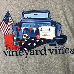 Vineyard vines tailgate long sleeve tee shirt NWOT